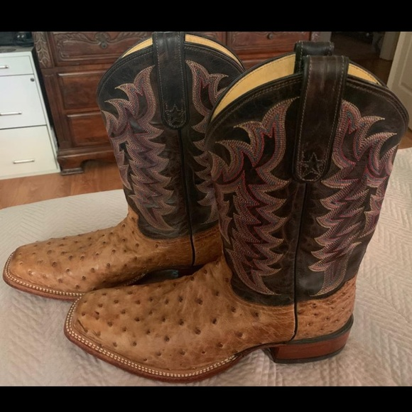 Tony Lama Other - Tony Lama Full Quill Ostrich Boots